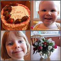 Birthday-mosaic